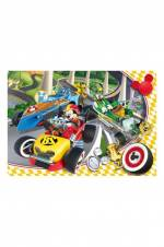 Disney Junior: Mickey And The Roadster Racers 60 Parça Çocuk Puzzle Cle26976 /