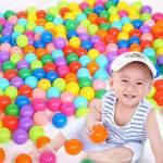 Oyun Ve Havuz Topu Pvc Torbada Renkli Sağlıklı Oyuncak 9 Cm 500 Adet Çocuk Oyun Topu Sağlıklı