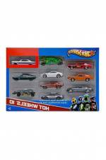 Hot Wheels 10 Lu Araba Seti 54886 /