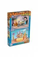 Ks Games Puzzle 2İn1 35/60 Flinstones 24X34Cm /