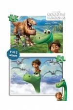 Ks Games Puzzle 2İn1 35/60 Good Dinosaur Puzzle /