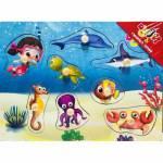 Niloya Ve Deniz Canlıları Ahşap Puzzle