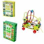 Eğitici Oyuncak İlk 50 Meyve Sebze + İlk 50 Hayvan + Kordinasyon Helezon Oyunu Algı Zeka Seti