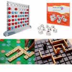 4 İn 1 Eğitici Zeka Oyunları Koridor + Hedef 5 + Kelime Üretme Oyunu Ve Hikaye Küpleri Oyun Seti