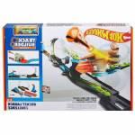 Mattel Hot Wheels Track Builder Süper Fırlatma Aksiyon Yarış Seti Flk60